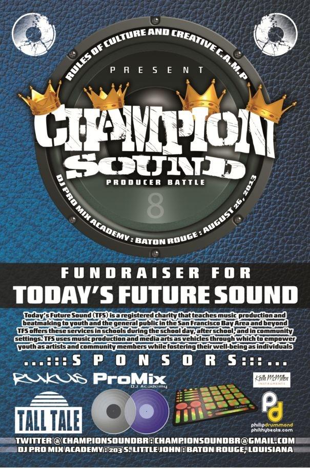 Champion Sound TFS Fundraiser Baton Rouge