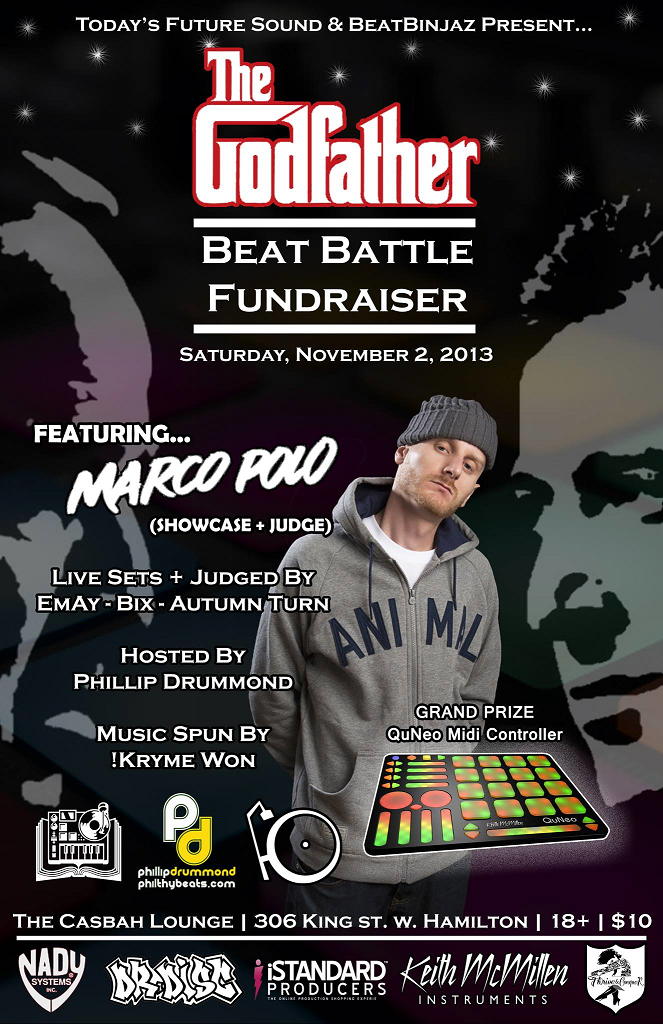 Godfather Beat Battle feat Marco Polo redux