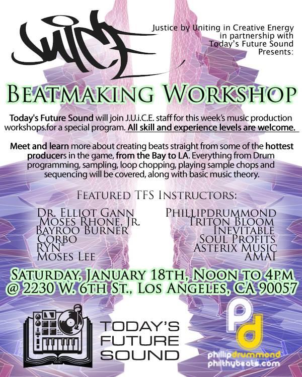 Juice Beat Making Workshop
