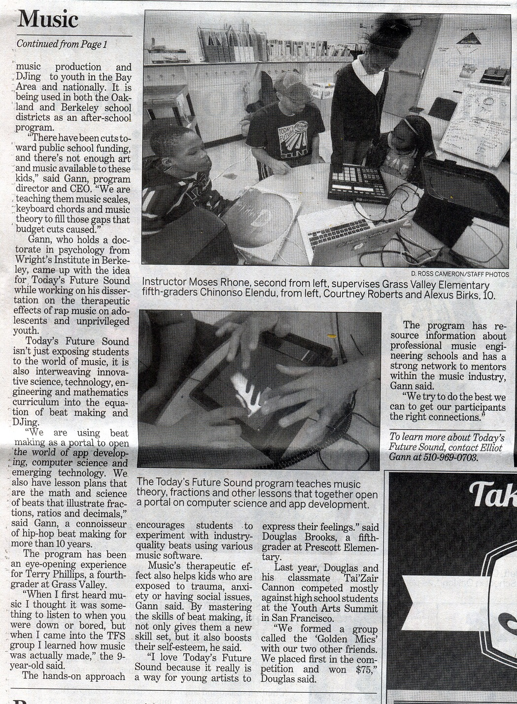 TFS Oakland Tribune feature page 2 redux web