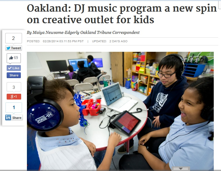 TFS Oakland Tribune web feature