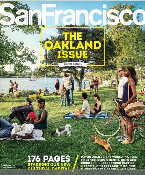 SF Magazine cover